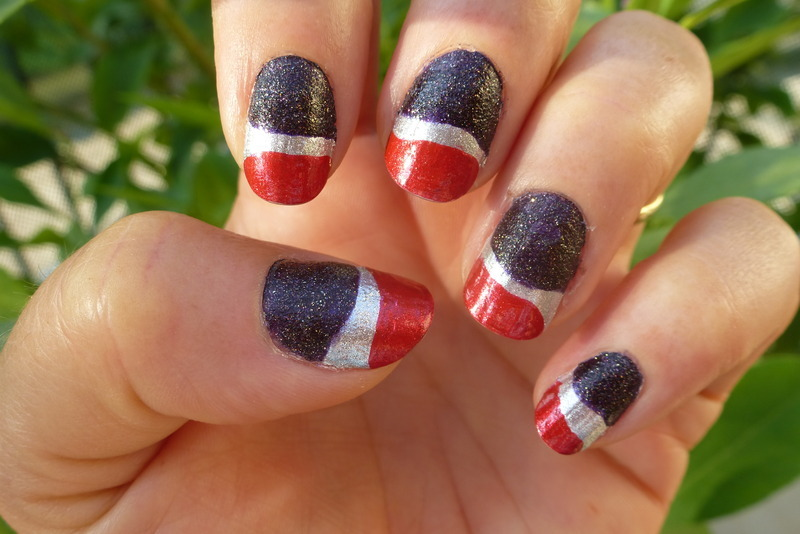 P Cola nail art by Barbouilleuse