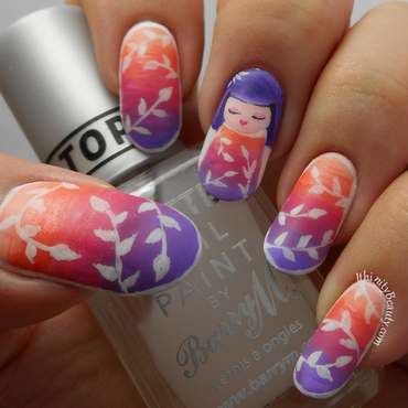 Kawaii Kimmidoll nail art by Ithfifi Williams