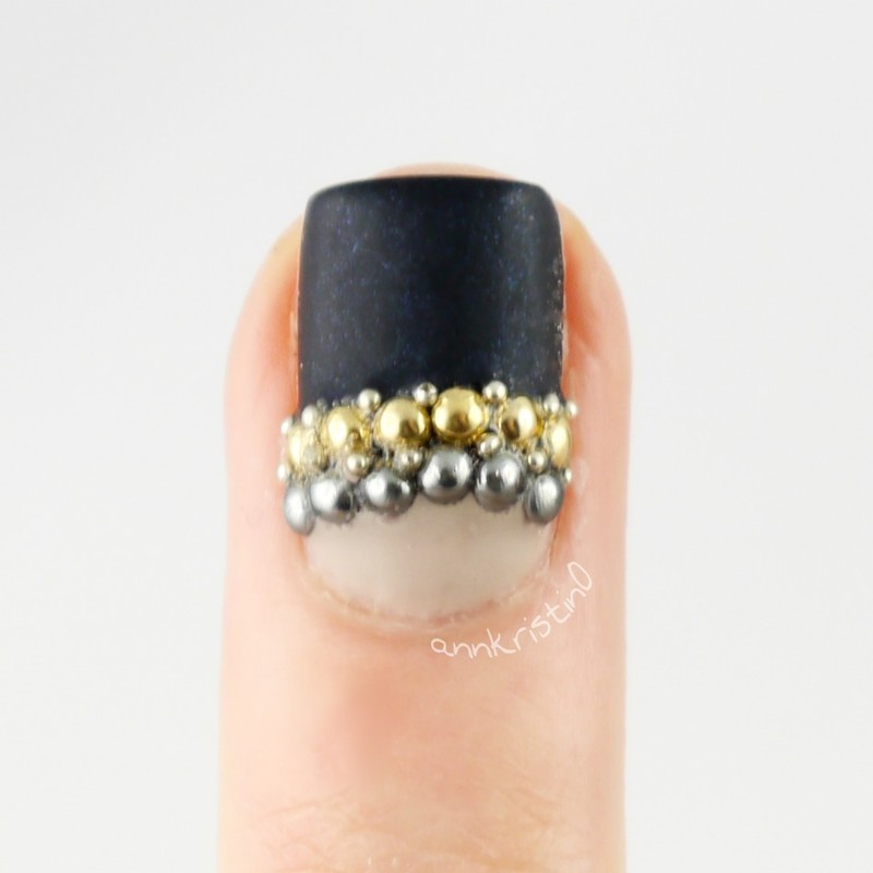 MBFWB Accent Nail nail art by Ann-Kristin