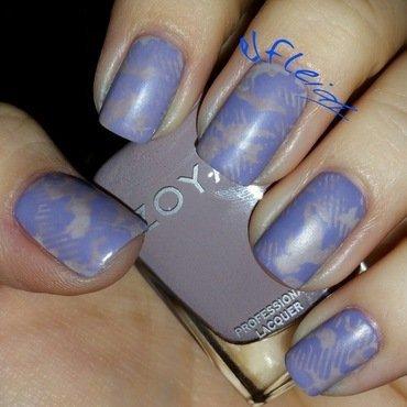 40 Great Nail Art Ideas- 3 shades of purple nail art by Jenette Maitland-Tomblin