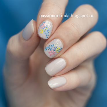 Colorful dotticure nail art by Passionorkinda