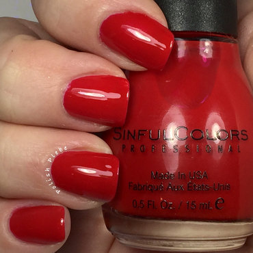 Sinful Colors Gogo Girl Swatch by Crystal Bond