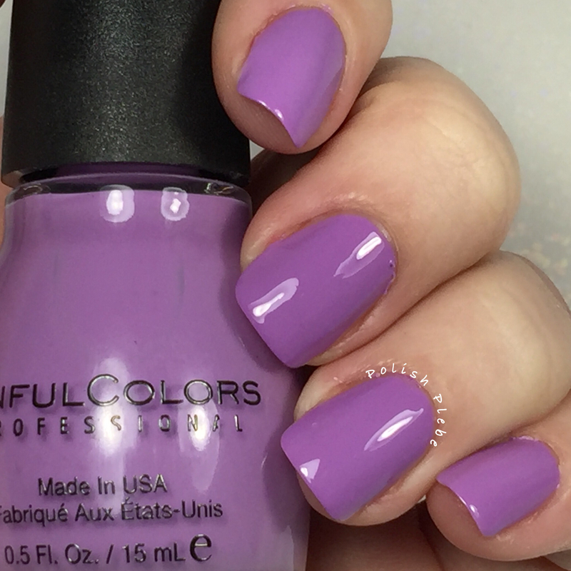 Sinful Colors Tempest Swatch by Crystal Bond