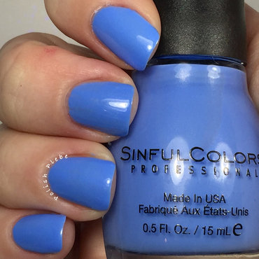 Sinful Colors Sail La Vie Swatch by Crystal Bond