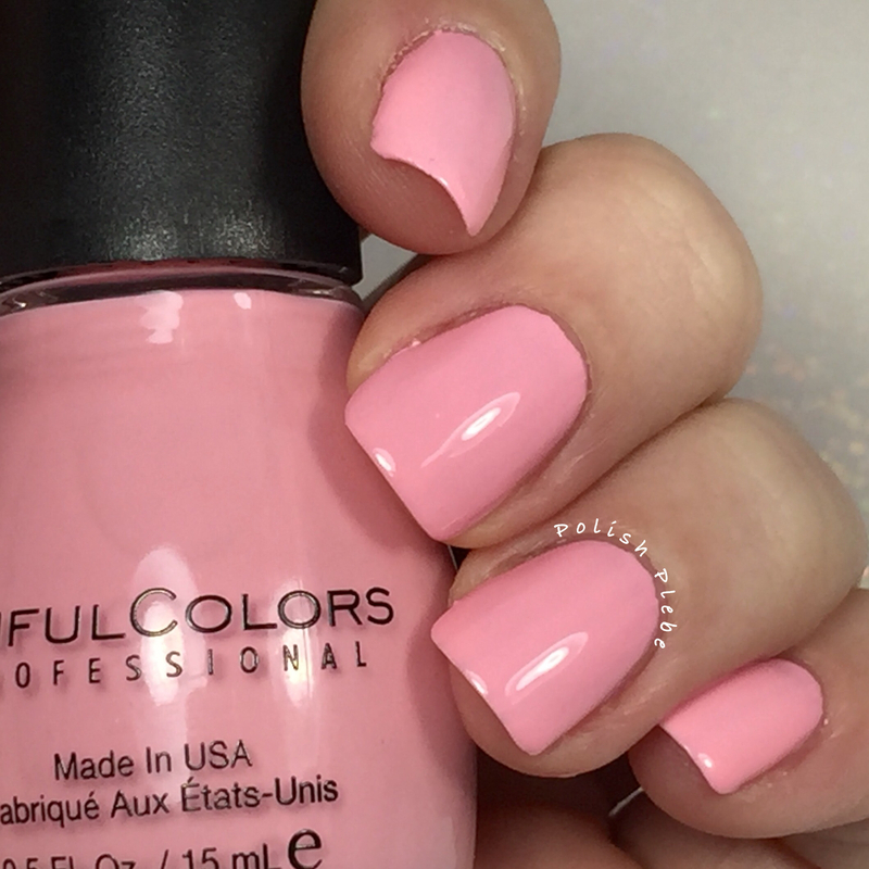 Sinful Colors Pink smart Swatch by Crystal Bond