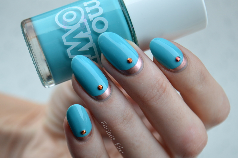 Bright Ruffian  nail art by Furious Filer