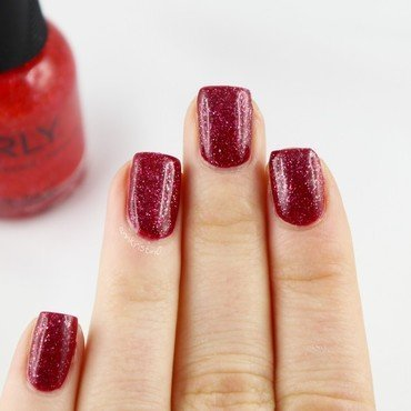 Layered Infamous nail art by Ann-Kristin