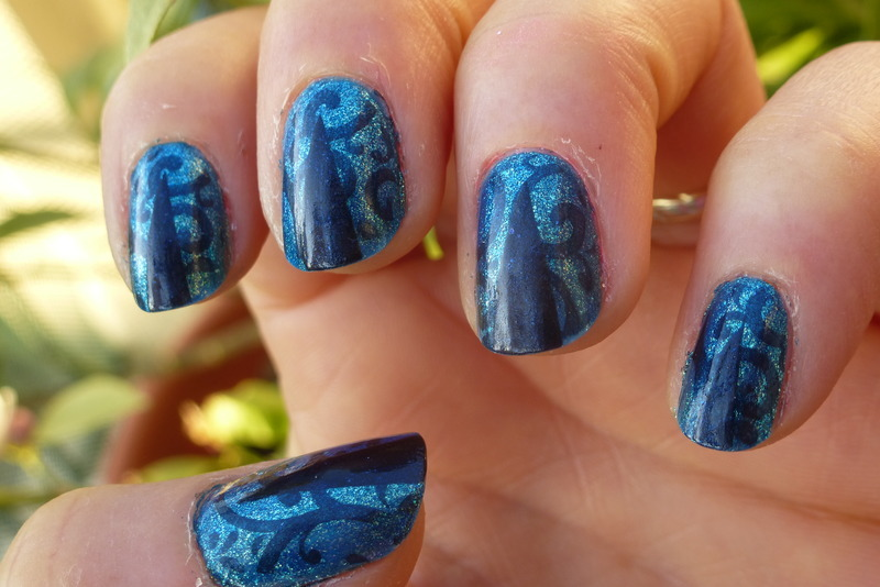 Cam 1 nail art by Barbouilleuse