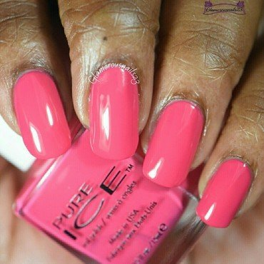 Pure Ice Flirt Alert Swatch by glamorousnails23