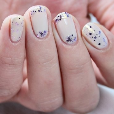 Sparkle Every Day nail art by Romana