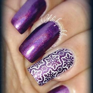 brrr nail art by Nicky