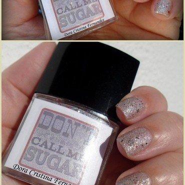 Don't Call Me Sugar nail art by Dora Cristina Fernandes