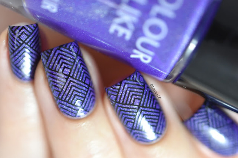 Clear Jelly Stamper nail art by Marine Loves Polish