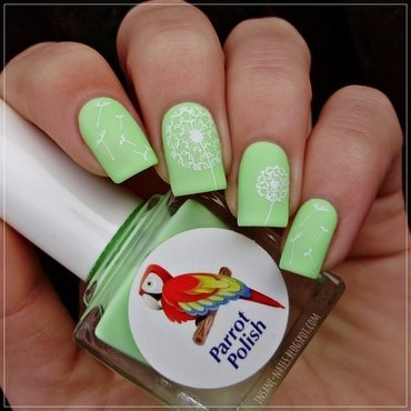 Matching manicures green nails 3 thumb370f