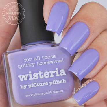 piCture pOlish Wisteria Swatch by xNailsByMiri