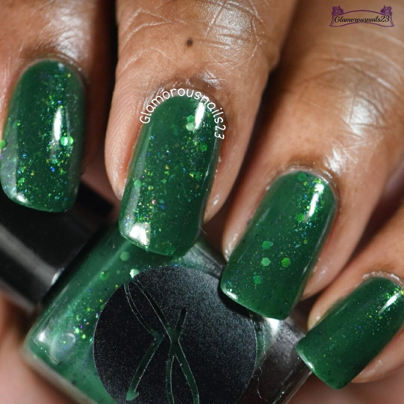 Jior Couture Faux or Real Swatch by glamorousnails23