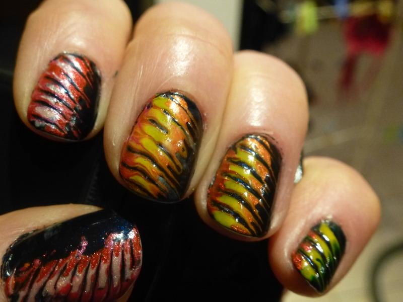 Delire colore nail art by Barbouilleuse