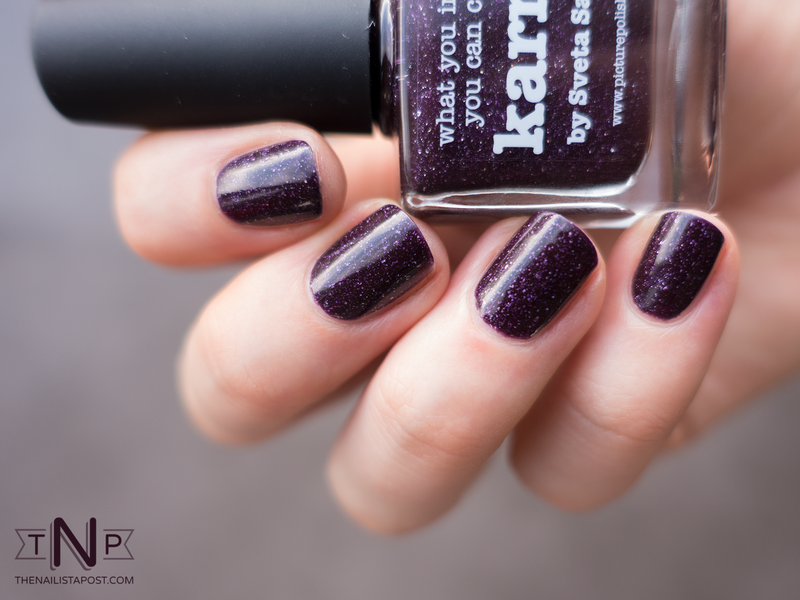 piCture pOlish karma Swatch by Kate C. - Nailpolis: Museum of Nail Art