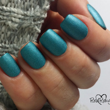 Sally Hansen Satin Glam nr 06 Teal Tulle Swatch by RedRouge