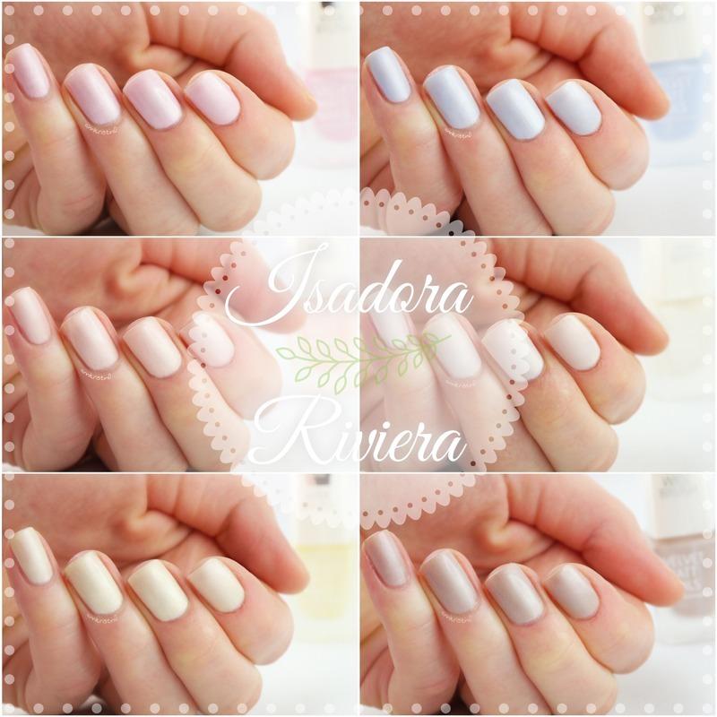 IsaDora Riviera Collection nail art by Ann-Kristin - Nailpolis ...
