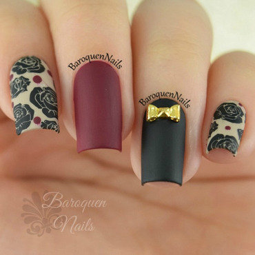 A Night Out nail art by BaroquenNails