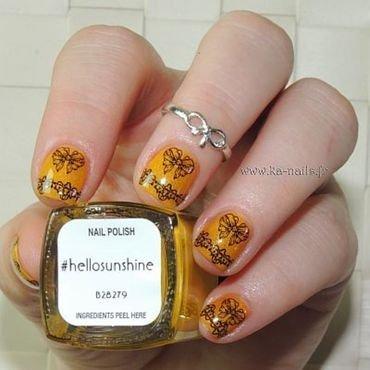 Noeuds et Dentelles nail art by Ka'Nails