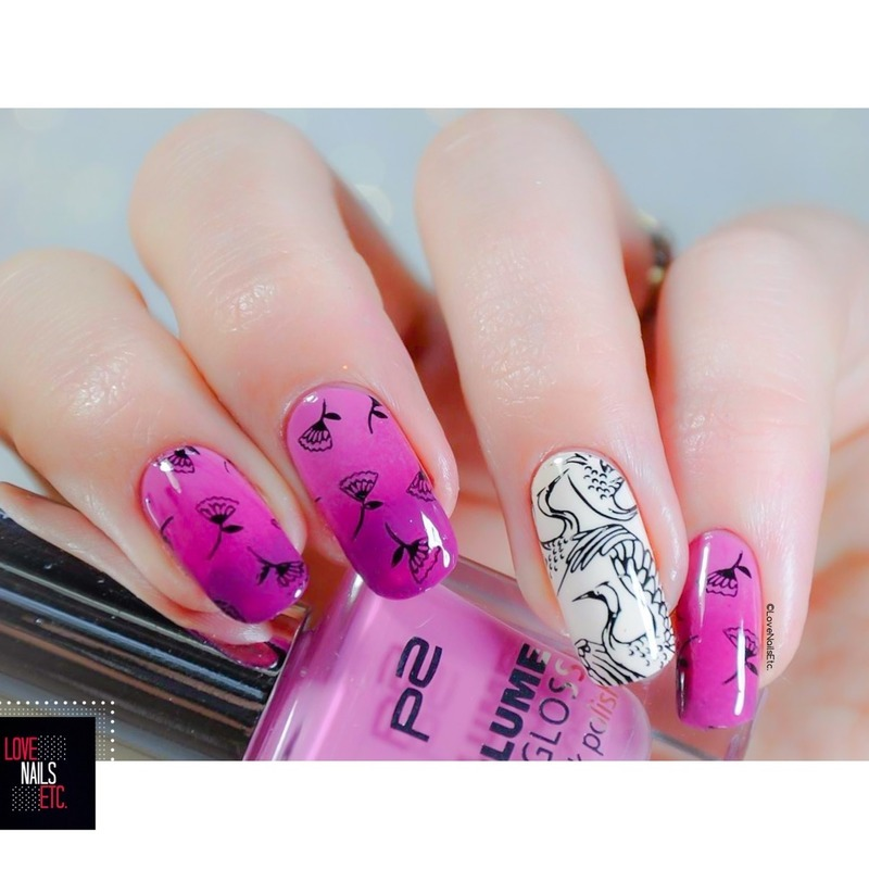 Japanese style nail art by Love Nails Etc