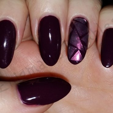 Shattered Nails nail art by Enigmatic Rambles