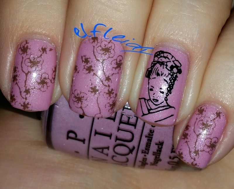 #clairestelle8feb book/movie you love nail art by Jenette Maitland-Tomblin