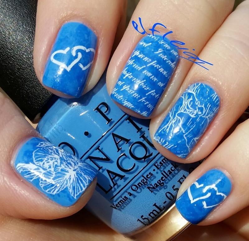 PAA Mani Monday 02-01-2016 nail art by Jenette Maitland-Tomblin