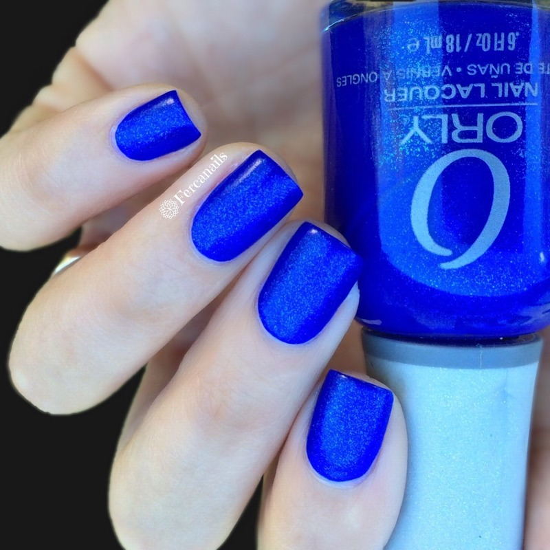 Orly Royal Navy Swatch by Fercanails