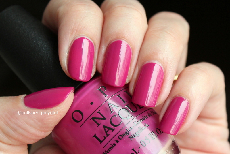 OPI Spare me a French quarter Swatch by Polished Polyglot
