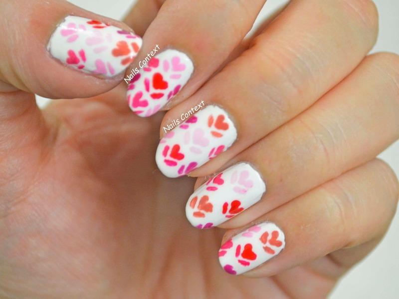 Romance Nails nail art by NailsContext