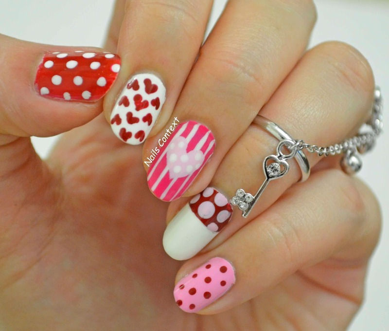 Sweetheart Nails nail art by NailsContext