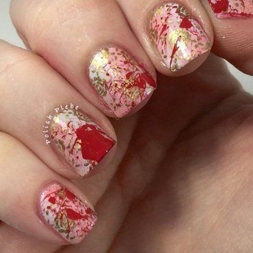 Pride and Prejudice and Zombies nail art by Crystal Bond