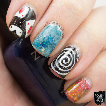 Now You See Me nail art by Marisa  Cavanaugh