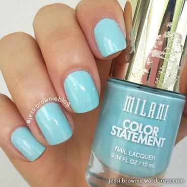 Milani Mint Crush Swatch by Jessi Brownie (Jessi)