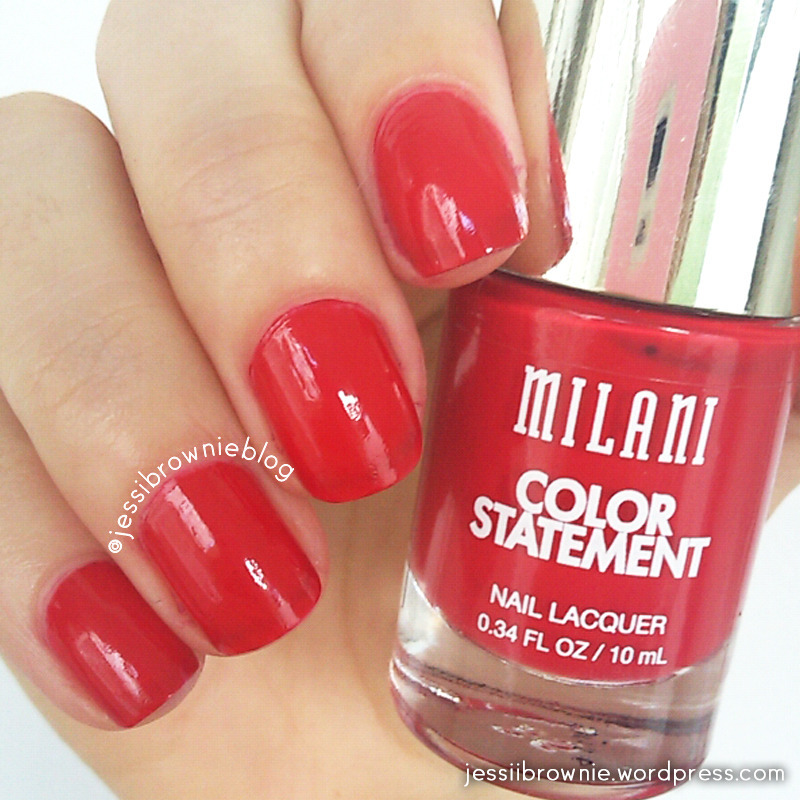 Milani red label Swatch by Jessi Brownie (Jessi)