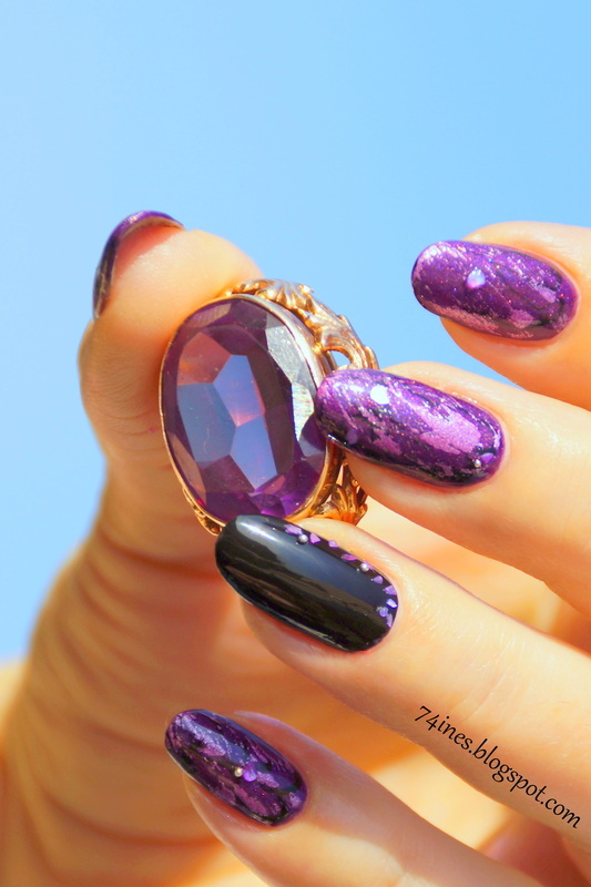 The sacrament nail art by 74ines