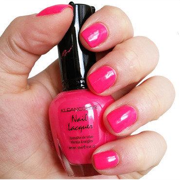 Kleancolor barbie pink Swatch by Kristen Lovett