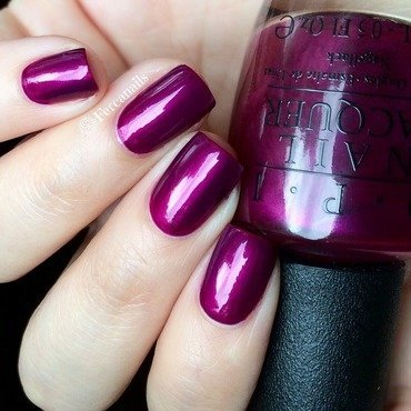 OPI Kiss Me - Or Elf Swatch by Fercanails