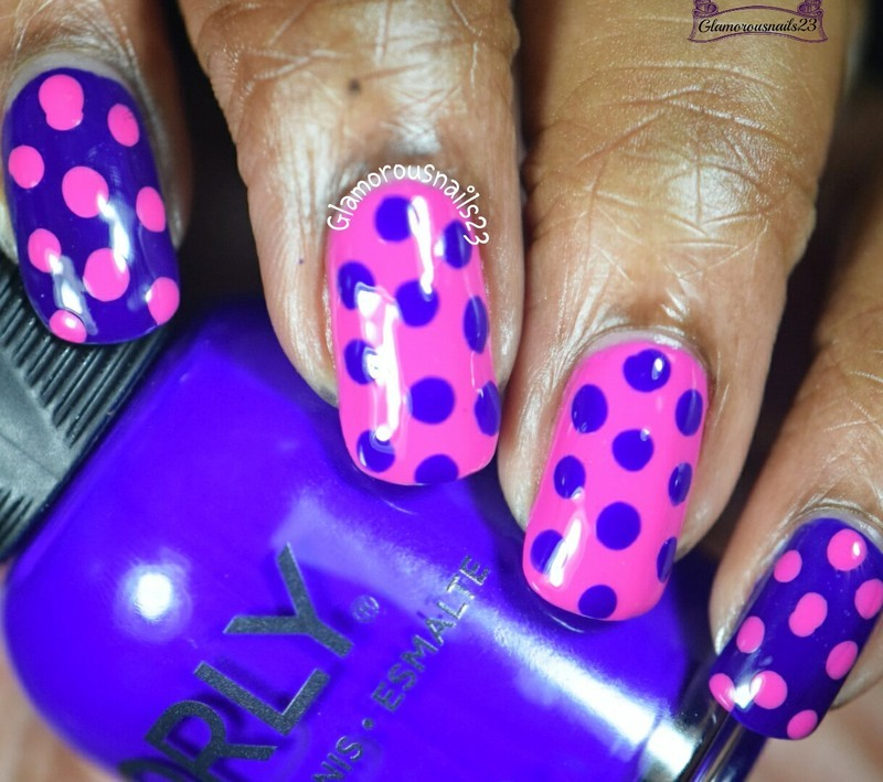 Dotticure nail art by glamorousnails23