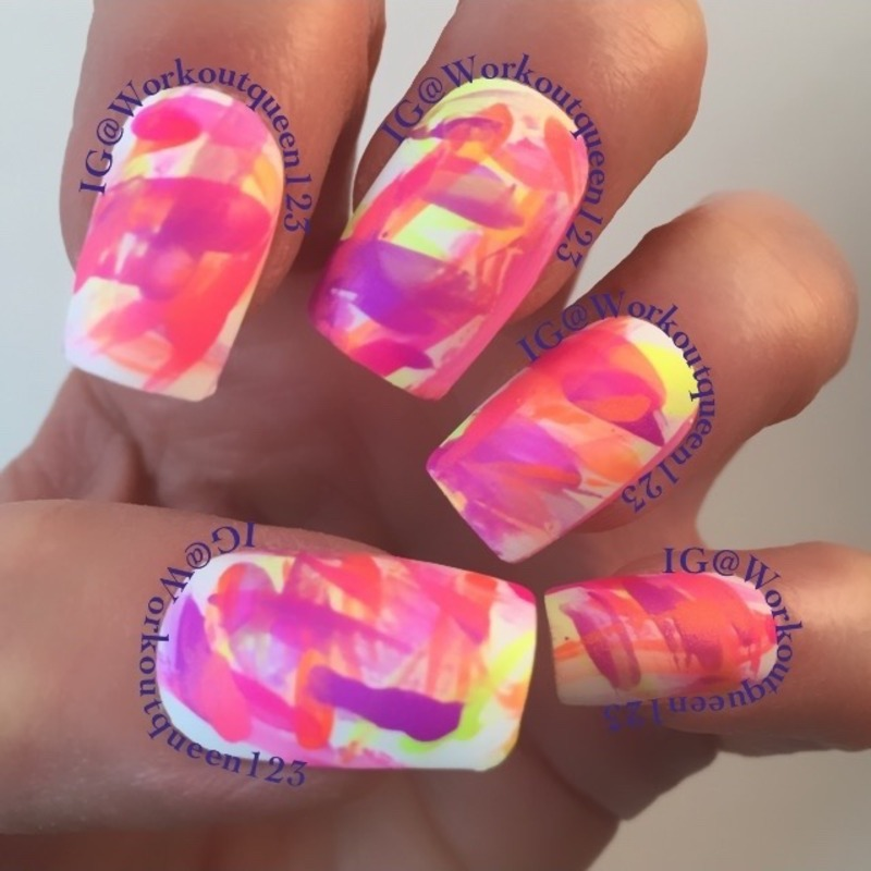 Untried nails nail art by Workoutqueen123