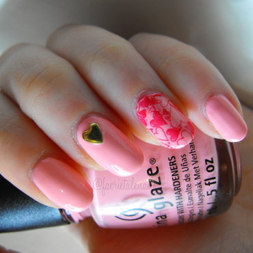Valentine's Nails nail art by faerietalenails