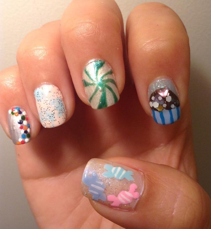 Sweet Toof (Right) nail art by Idreaminpolish
