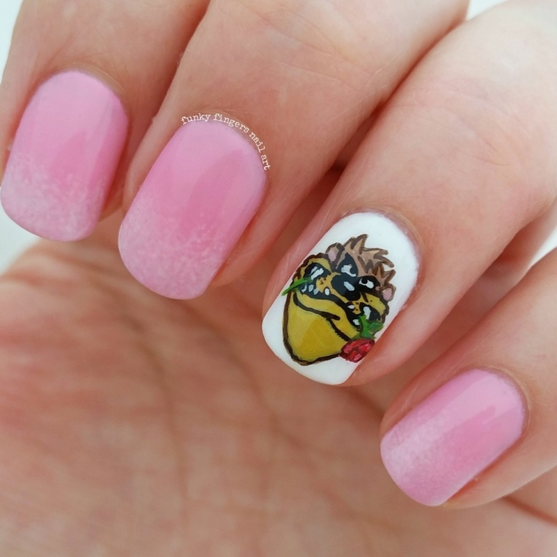 valentines day nails  nail art by Funky fingers nail art