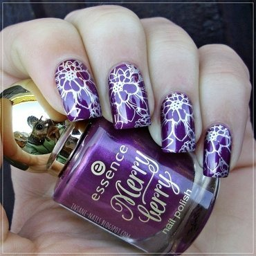 Matching manicures purple nails 2 thumb370f
