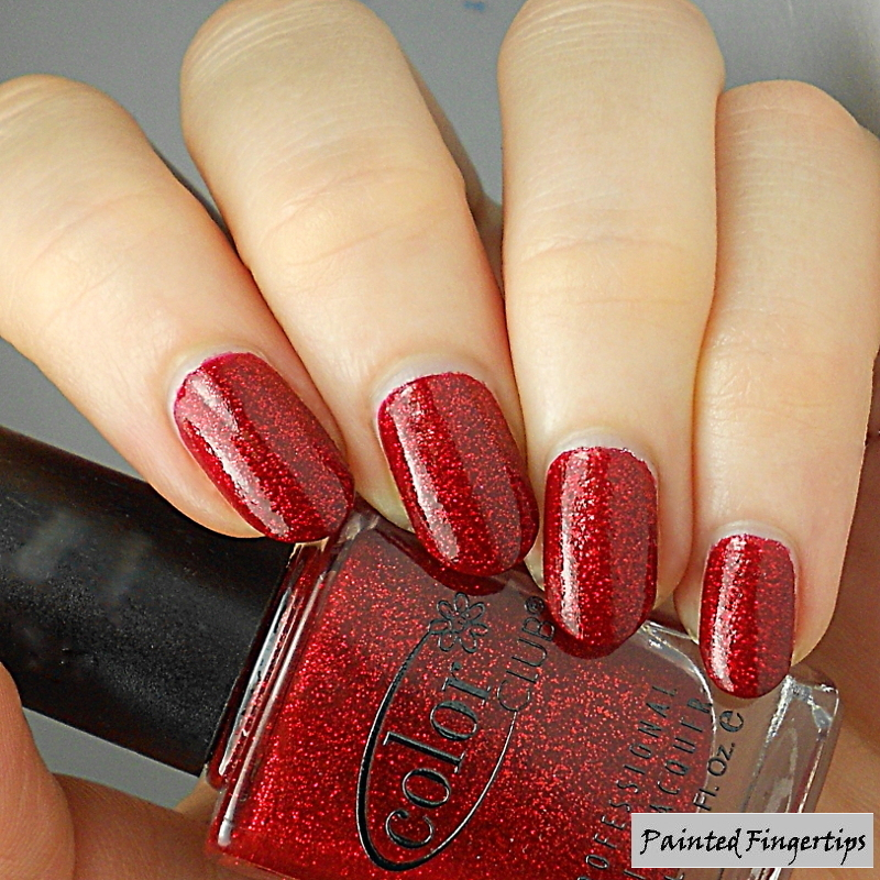 Color Club Ruby Slippers Swatch