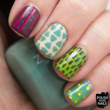 Mix & Match nail art by Marisa  Cavanaugh