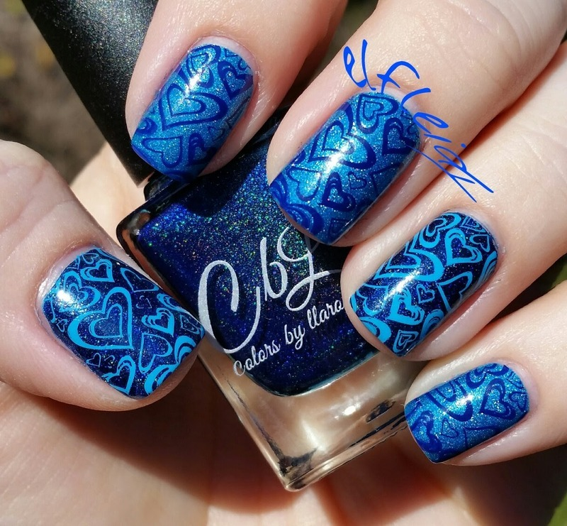 40 Great Nail Art Ideas- love nail art by Jenette Maitland-Tomblin
